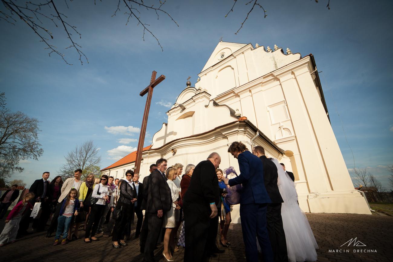 fotograf ślubny kościół smardzewice