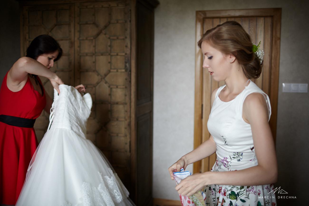 ślub w hotelu podklasztorze