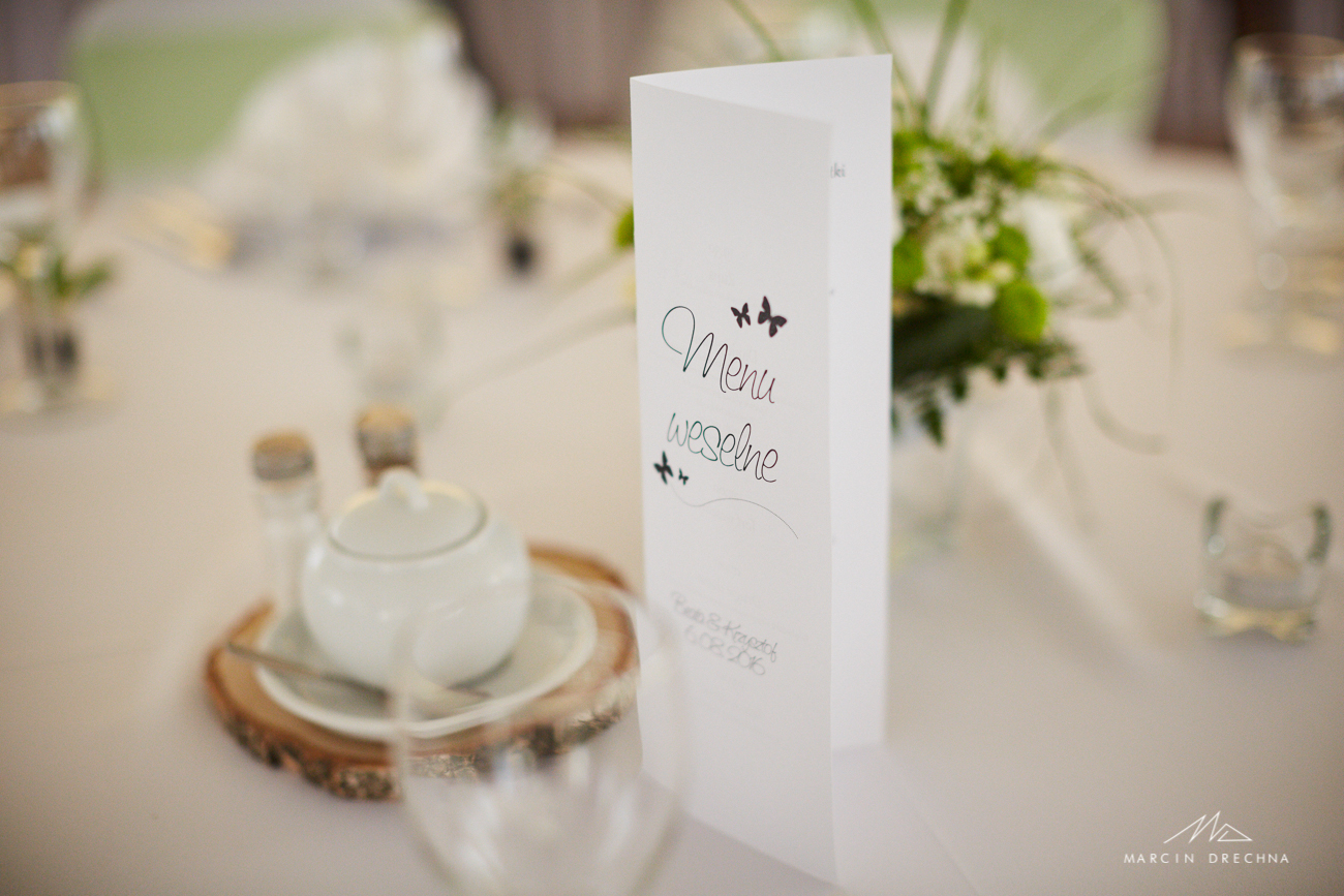 menu weselne hotel poklasztorze