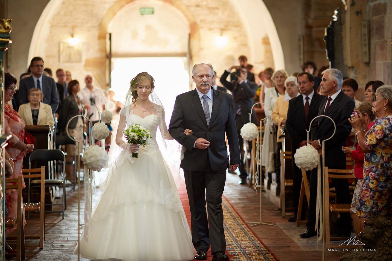 ślub w opactowie cystersów sulejów