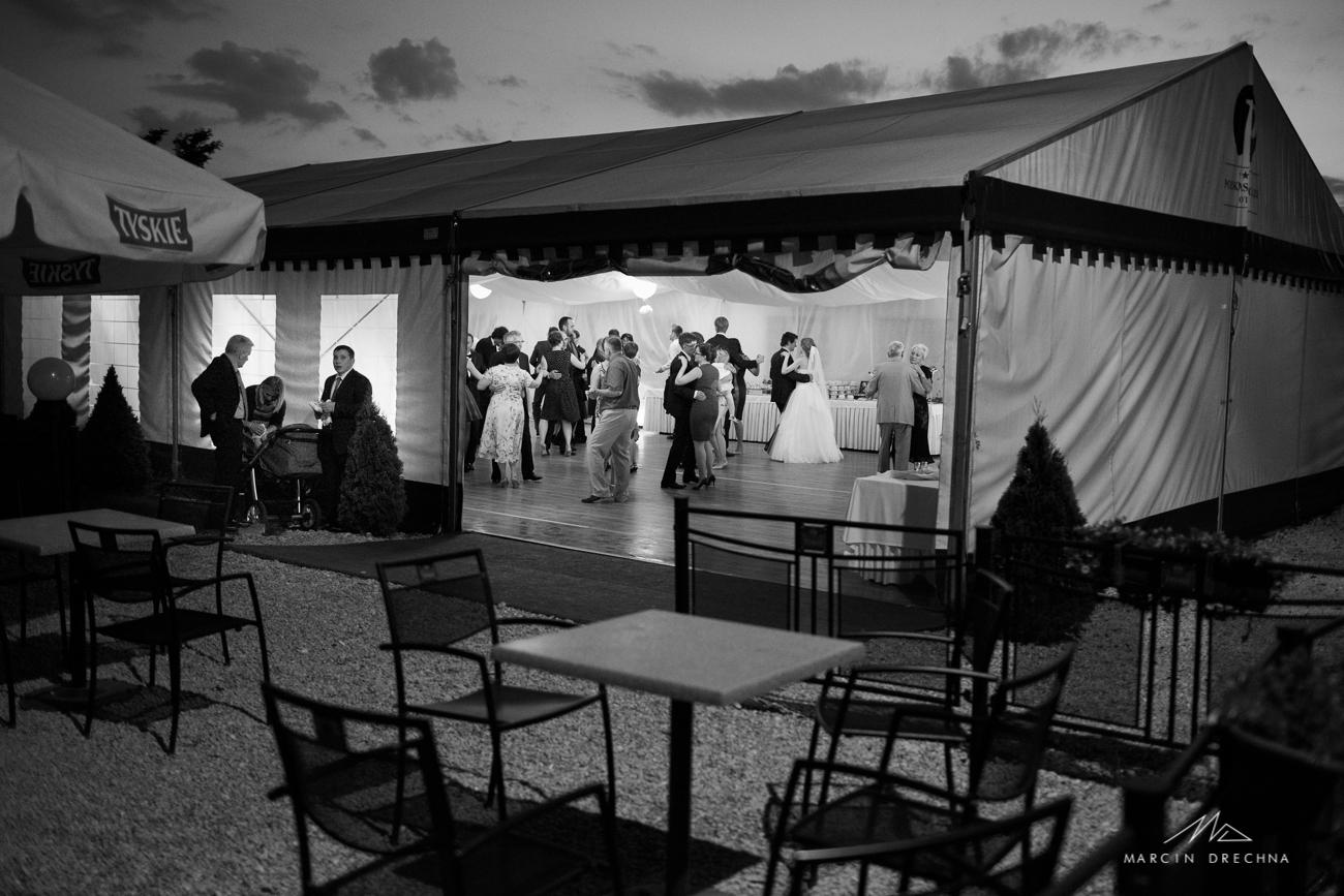 namiot weselny hotel podklasztorze
