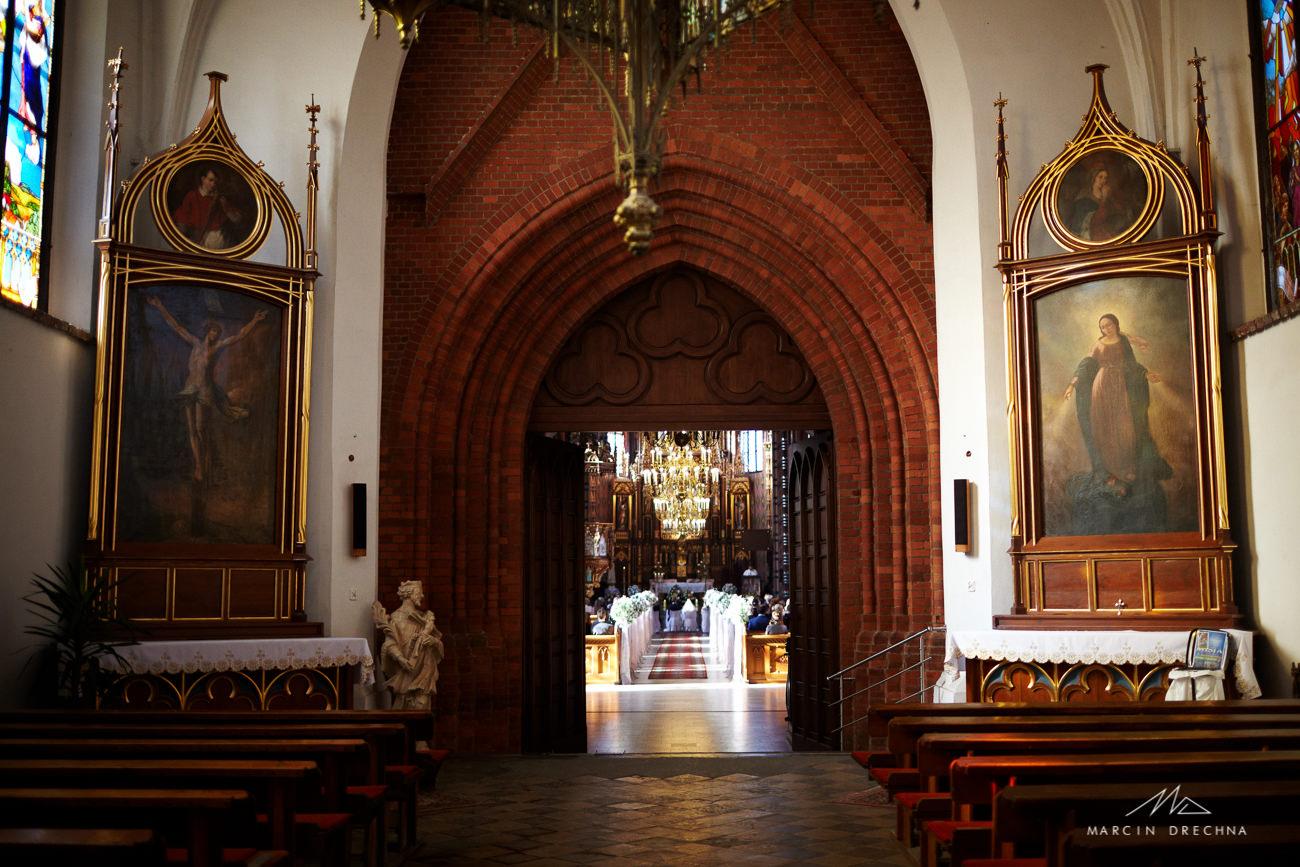 fotografia w kościele w sosnowcu