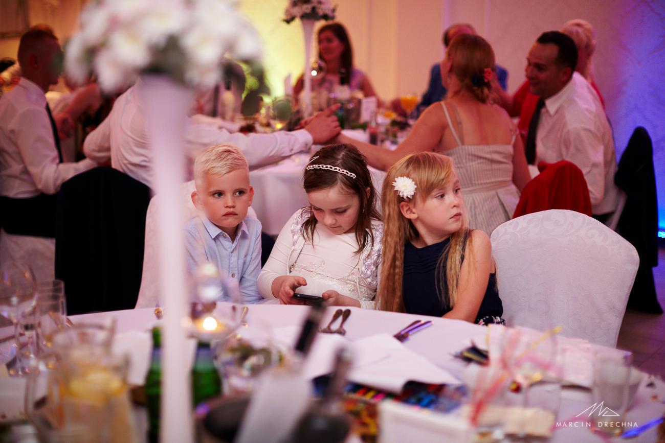 dzieci na weselu villa marina dąbrowa górnicza
