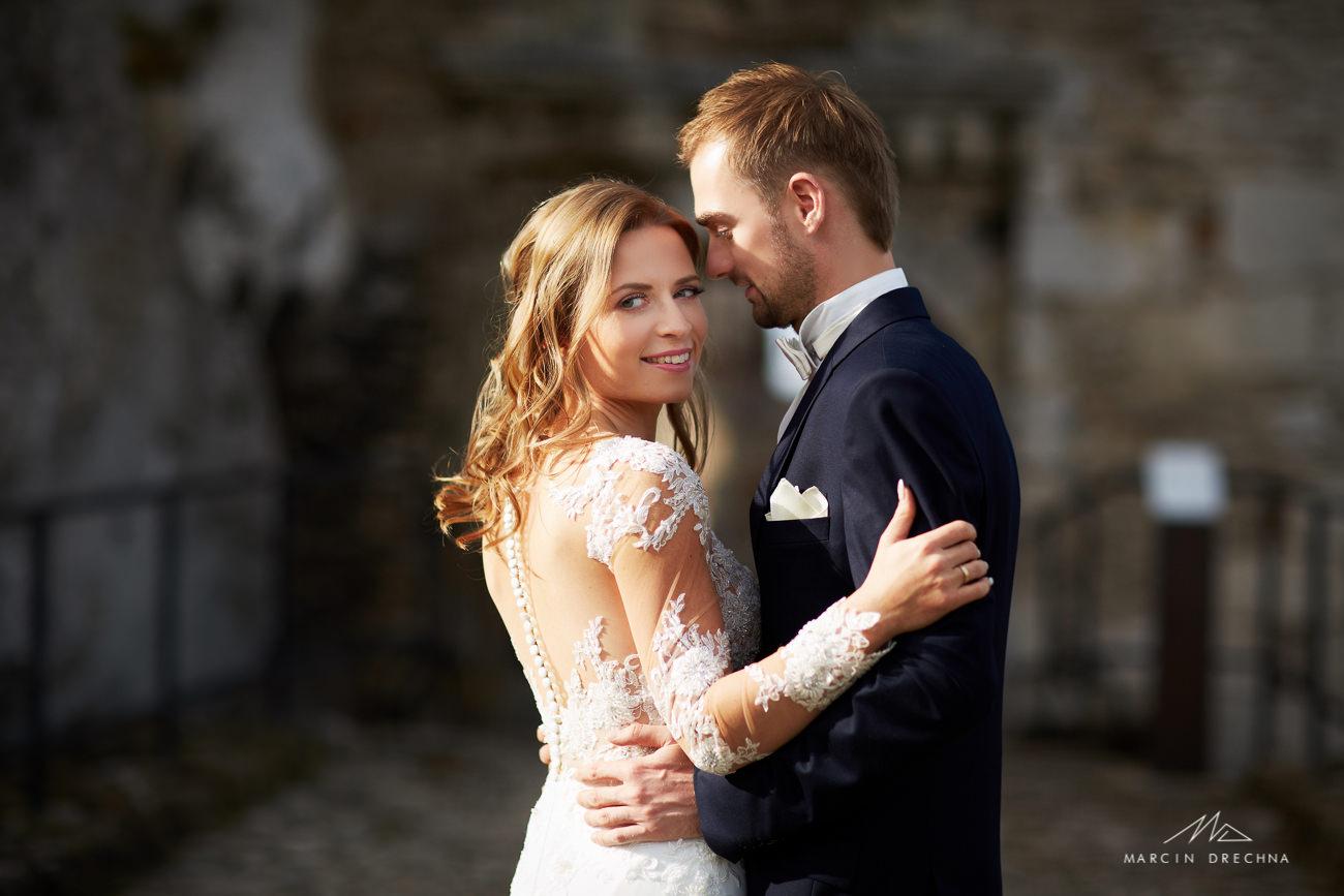 fotograf ślubny zamek ogrodzieniec