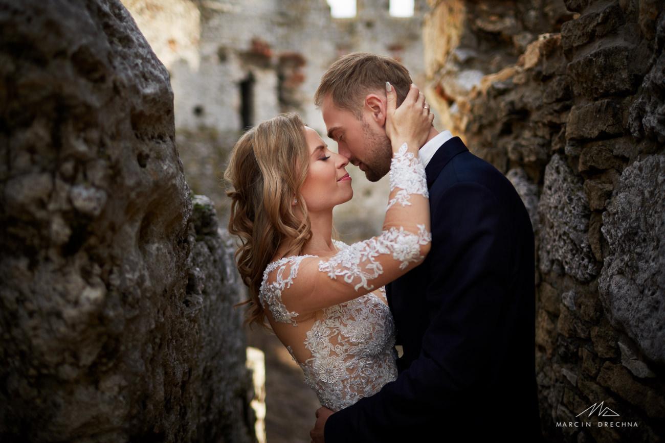 fotografia ślubna zamek ogrodzieniec