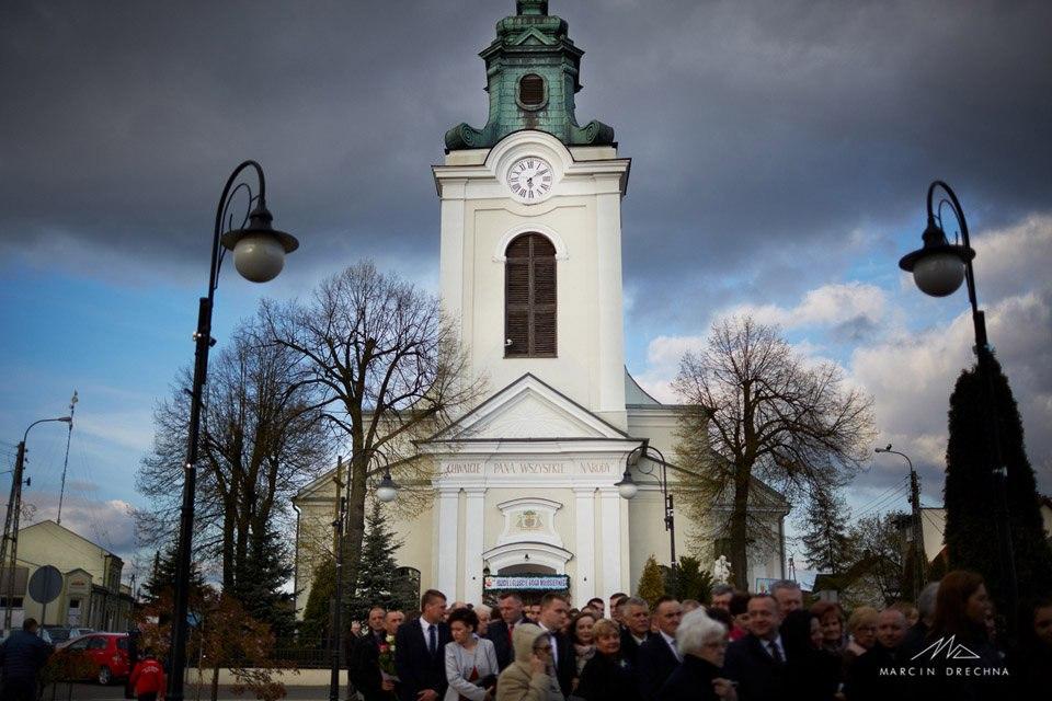 kościół wolbórz