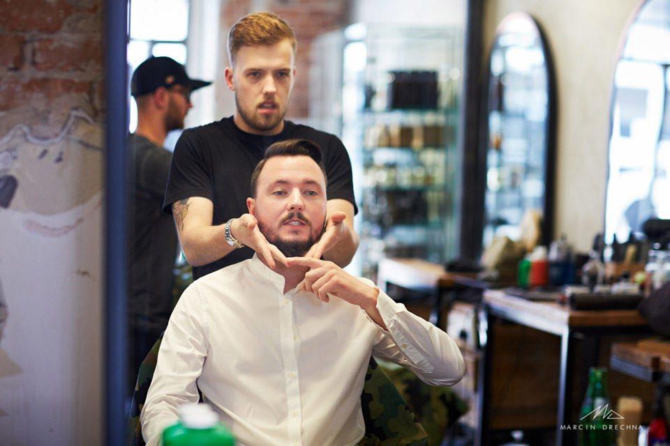 Brush barber shop Łódź zdjęcia ślubne