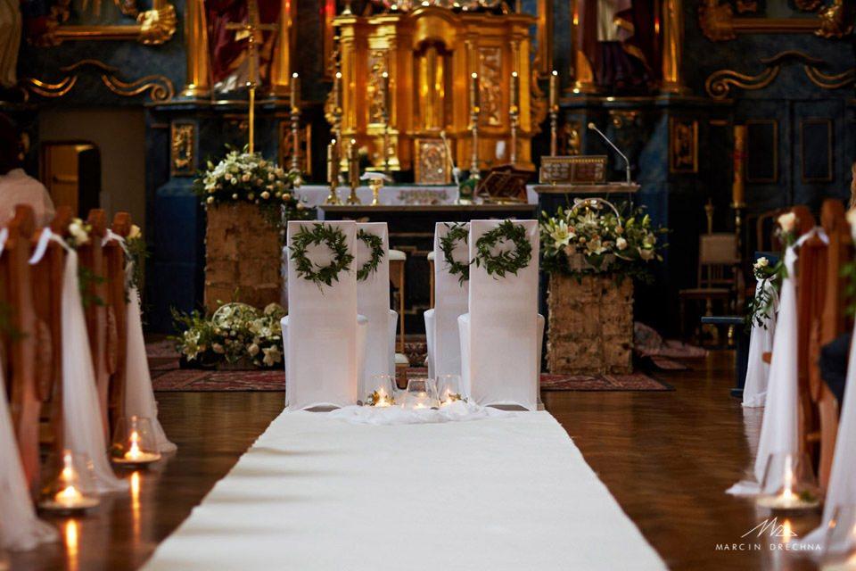 dekoracja kościoła rustykalna piotrków