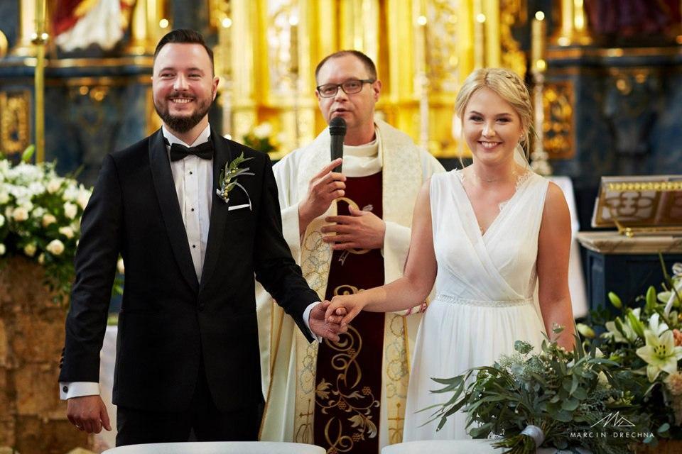 wesele rustykalne kościół panien dominikanek piotrków