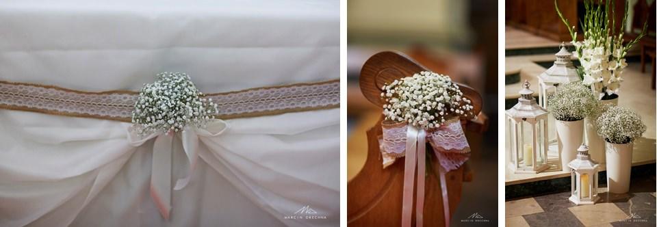 dekoracja ślubna smardzewice