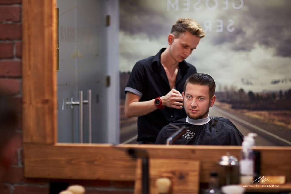 Barber Shop by Edyta Piotrków