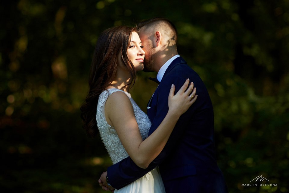 rogalinek sesja ślubna