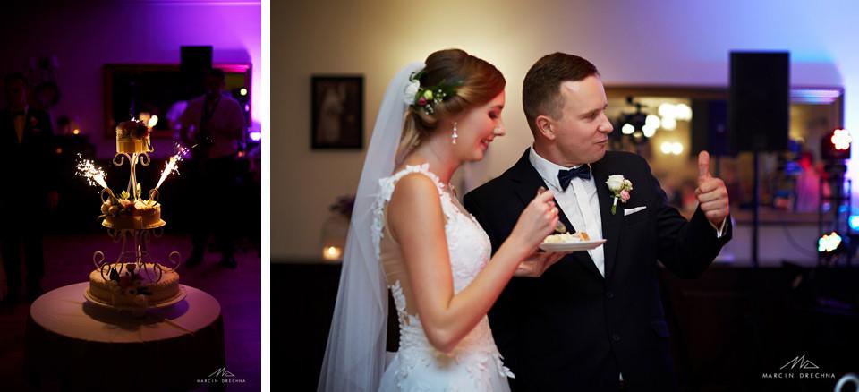 tort weselny dworek pod dębami meszcze