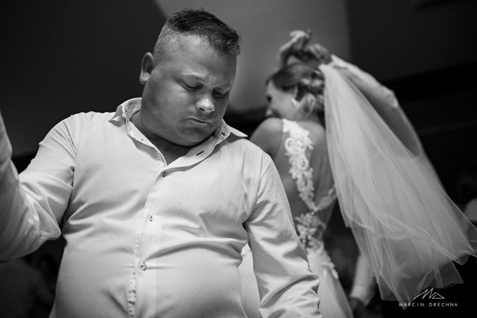 dworek pod dębami zdjęcia z wesela