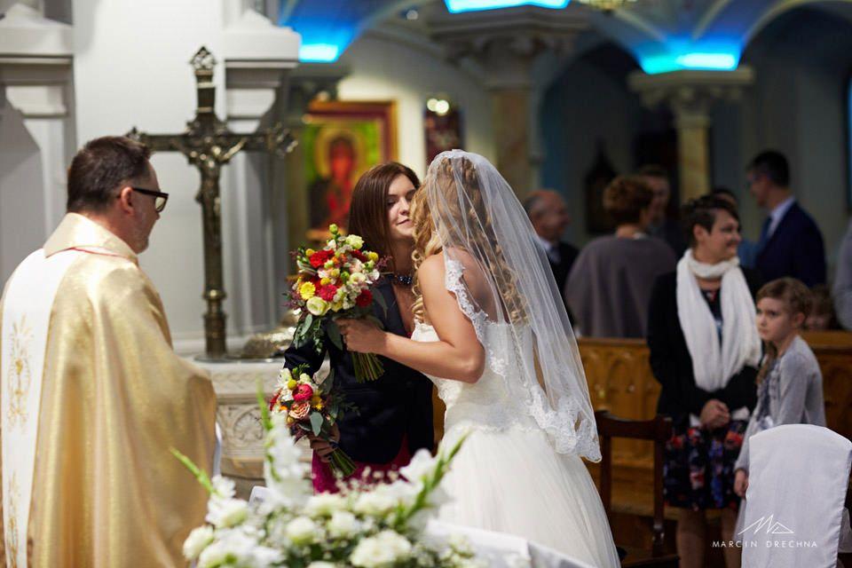 łódź zdjęcia ceremoni ślubnej