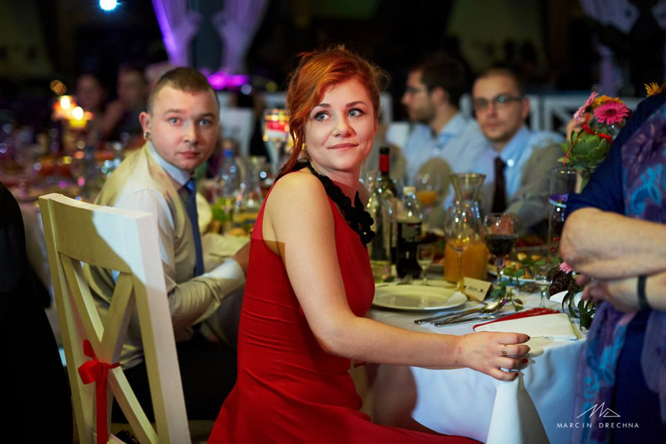 wzruszenie na weselu