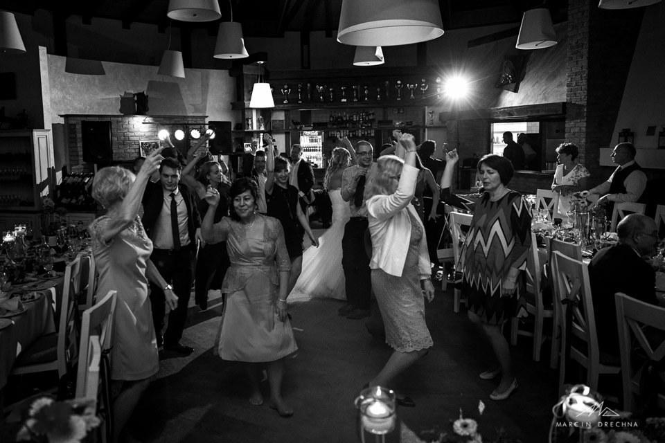zabawa weselna w restauracji rancho w centrum zbyszko
