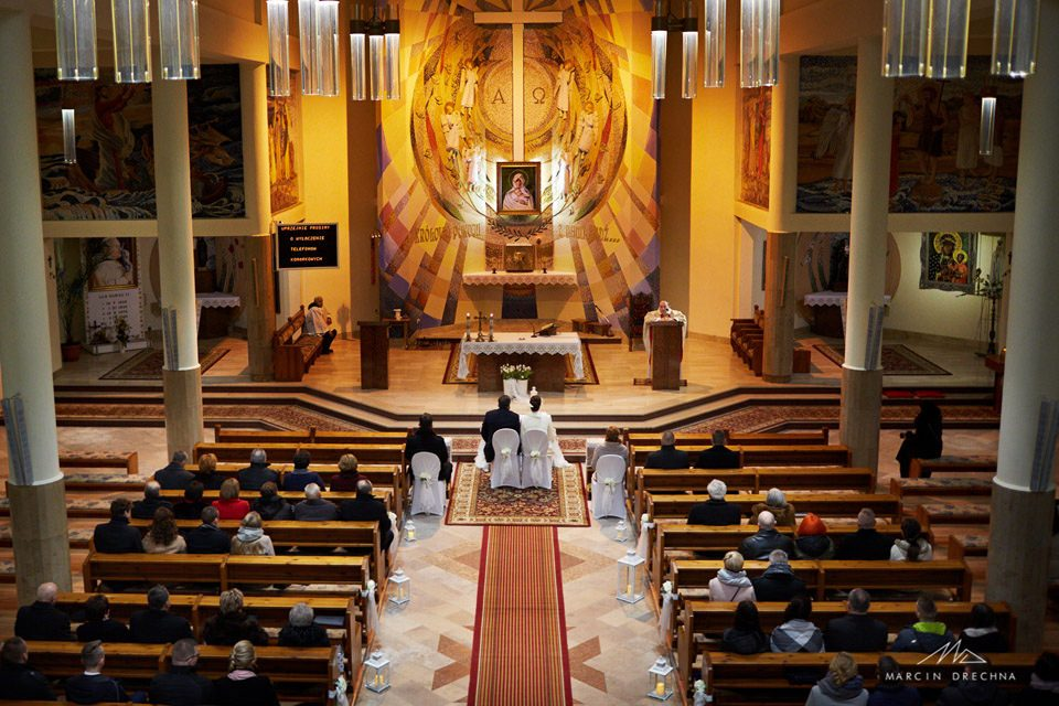 ślub kościół piotrków belzacka