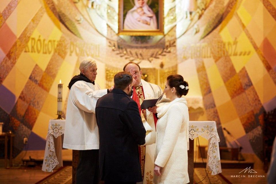 przysięga ślubna piotrków kościół belzacka