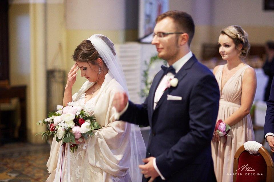 ślub w kościele na zgierskiej w łodzi