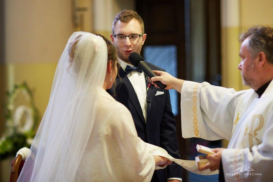 przysięga małżeńska łódź