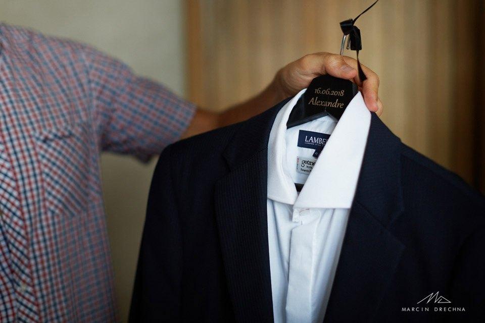 garnitur do ślubu hotel podklasztorze