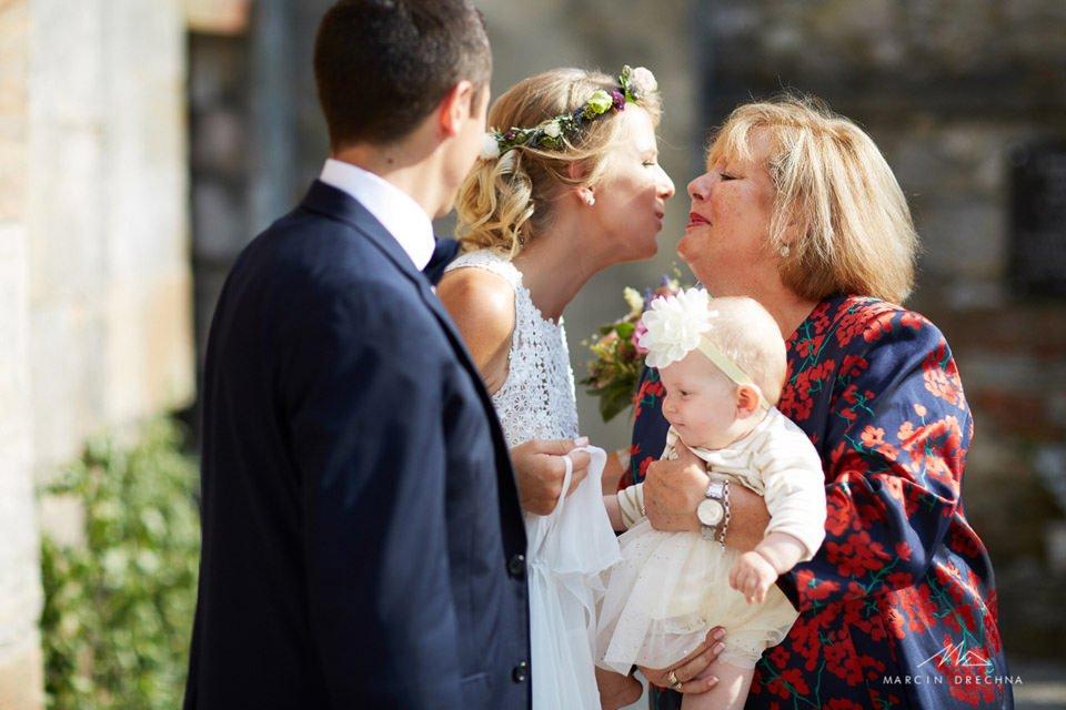 ślub w kościele na podklasztorzu