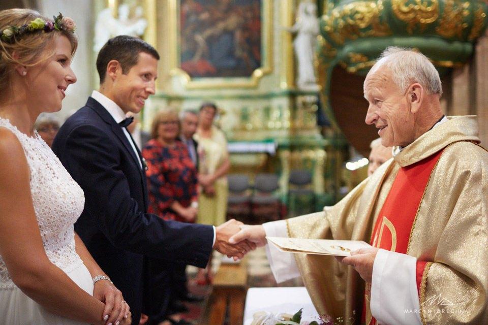ślub na podklasztorzu