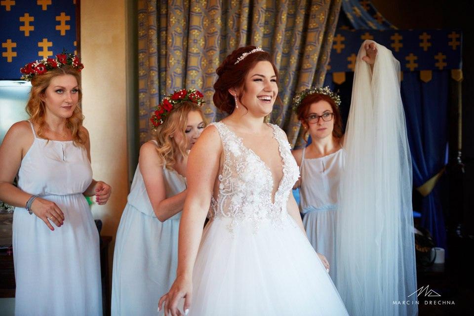 reportaż ślubny zamek uniejów