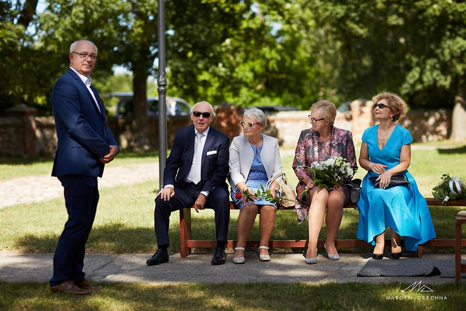 ślub w kościele w Siedlątkowie