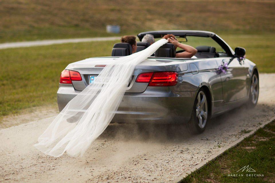 bmw cabrio do ślubu