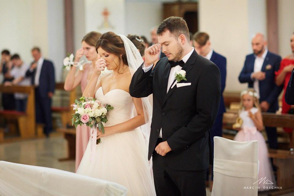 bukiet ślubny parzno