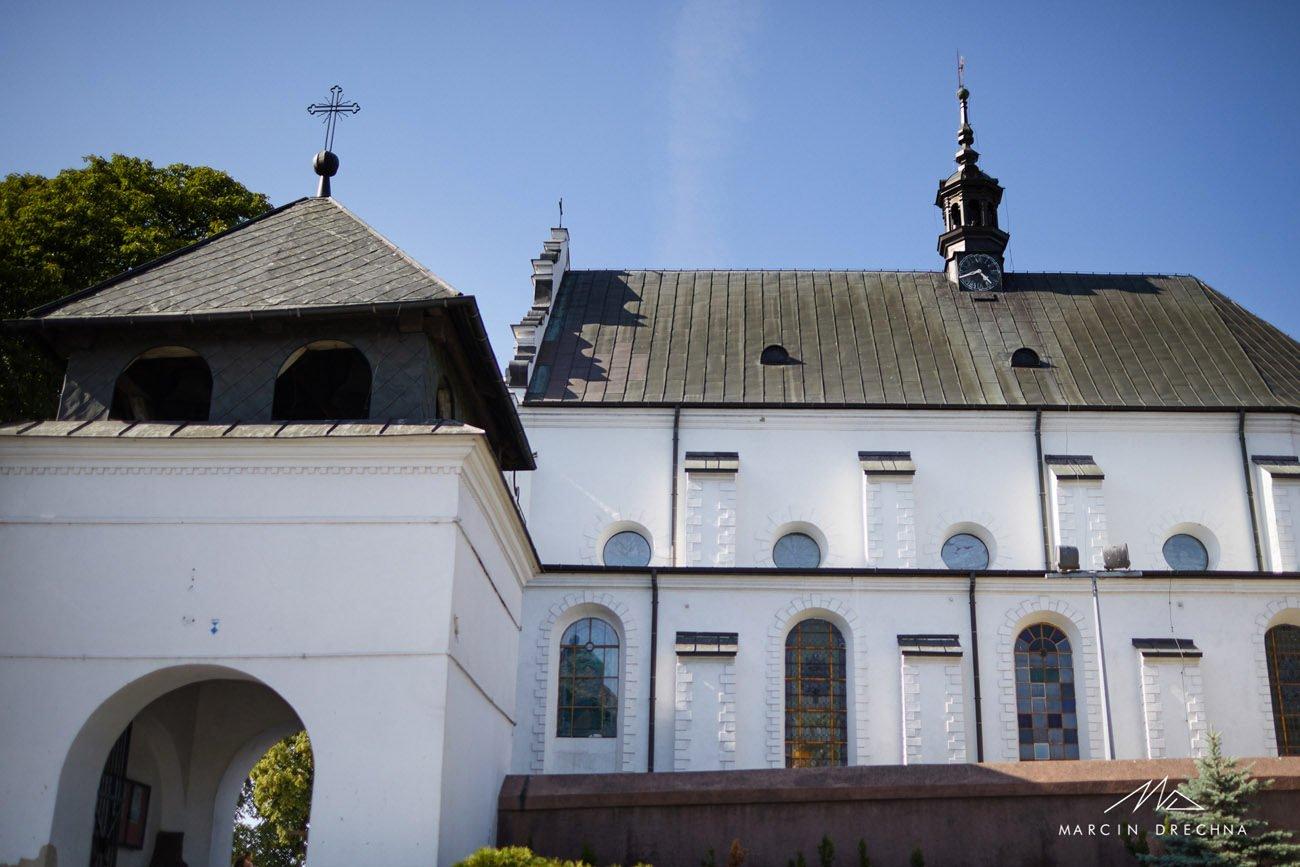 kościół poddębice