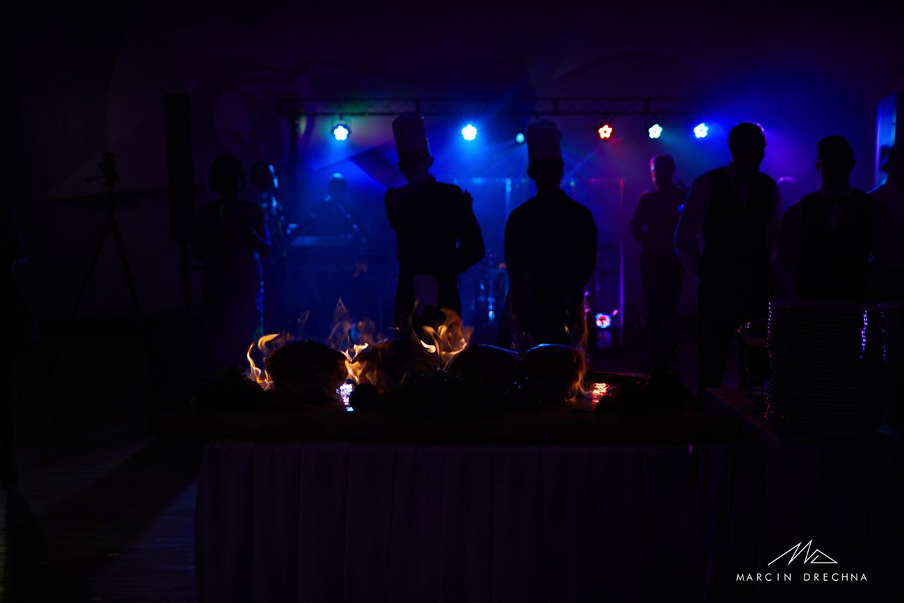 czarny staw sala platynowa wesele