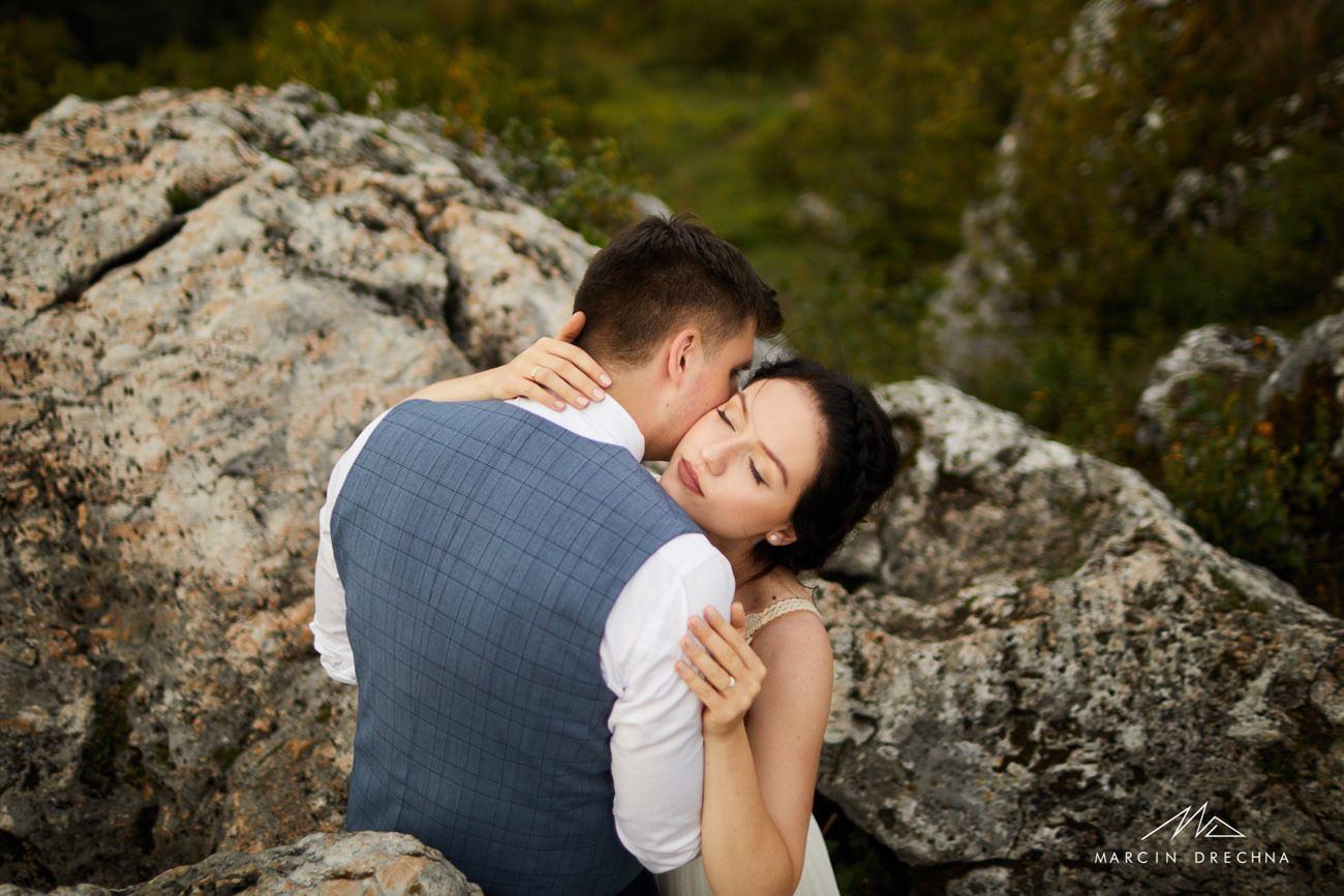 sesja ślubna góra zborów
