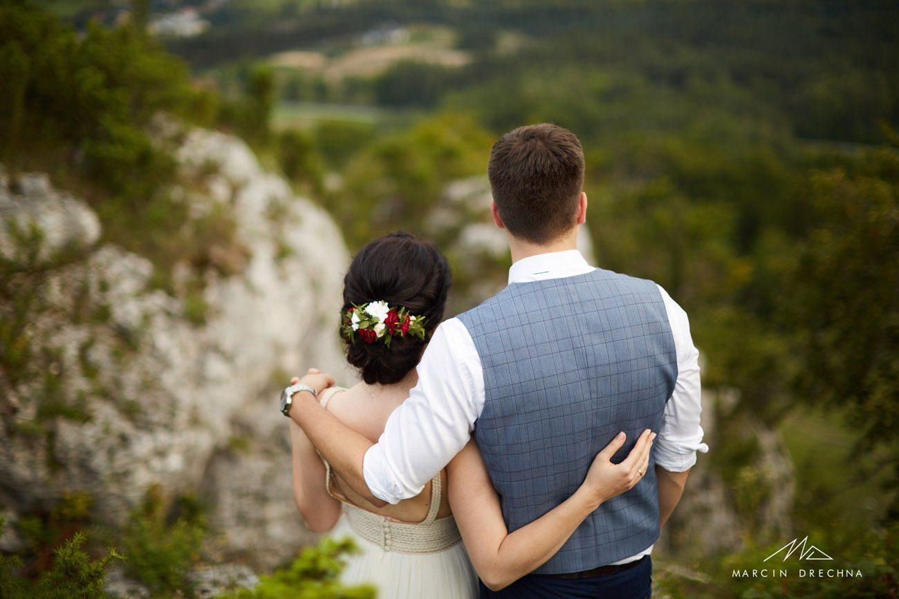 zdjęcia ślubne góra zborów