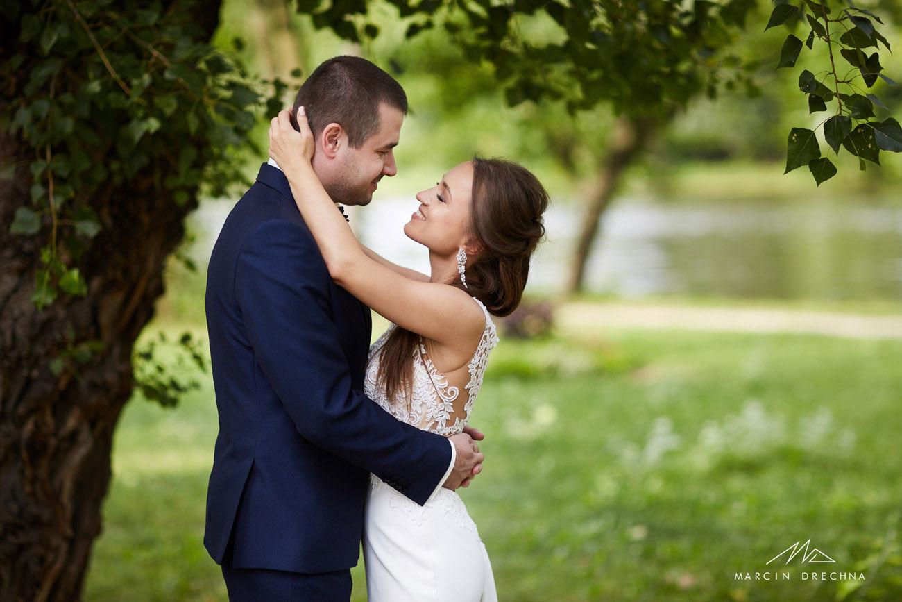 sesja ślubna pałac w wilanowie