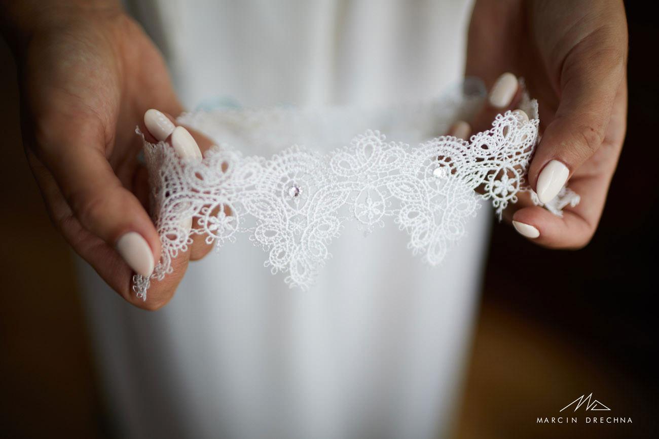 podwiązka ślubna tomaszów