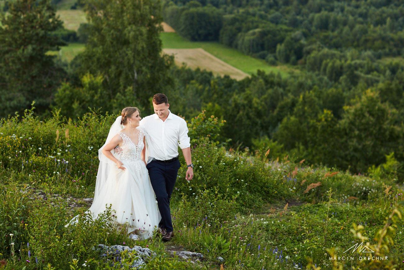 plener ślubny w górach świętokrzyskich