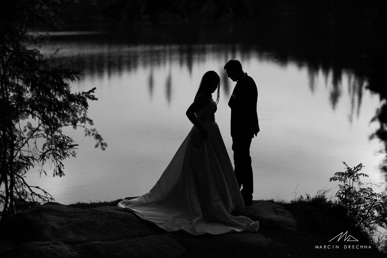 zdjęcia ślubne szczyrbskie jezioro