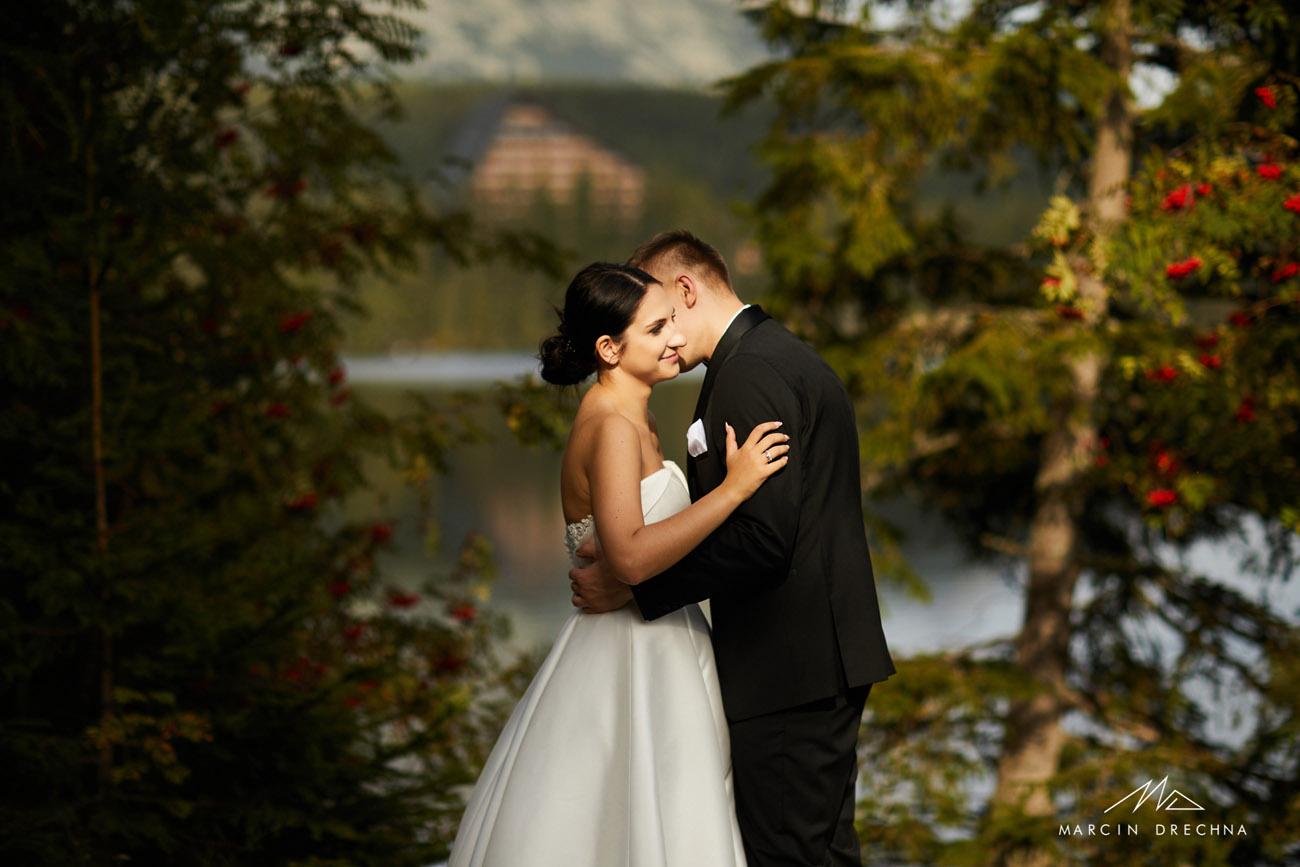 Sesja ślubna słowacja strbske Pleso
