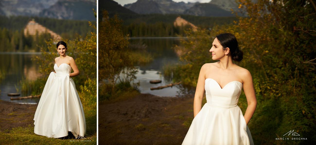 zdjęcia ślubne słowacja strbske Pleso