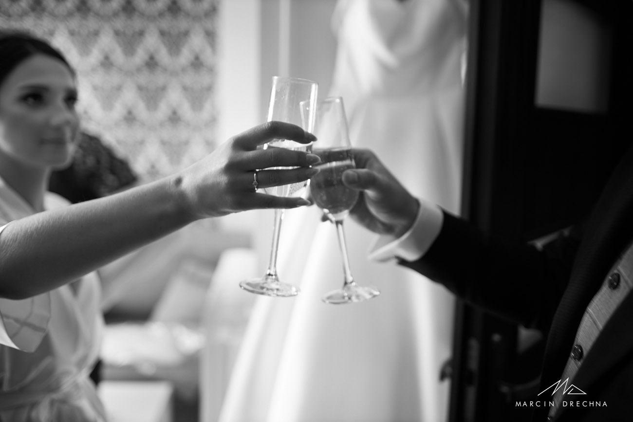 wino ślubne