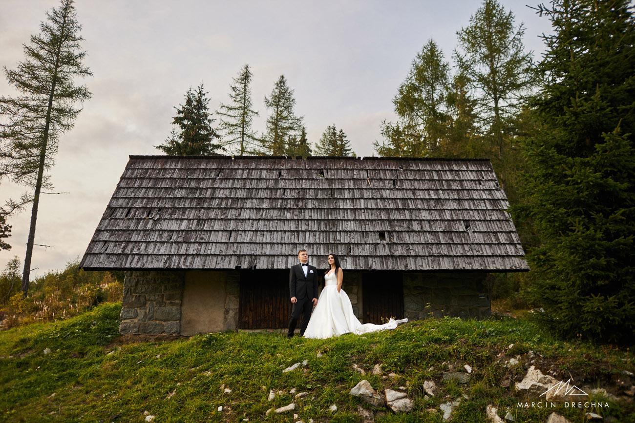 jezioro szczyrbskie zdjęcia z pleneru ślubnego