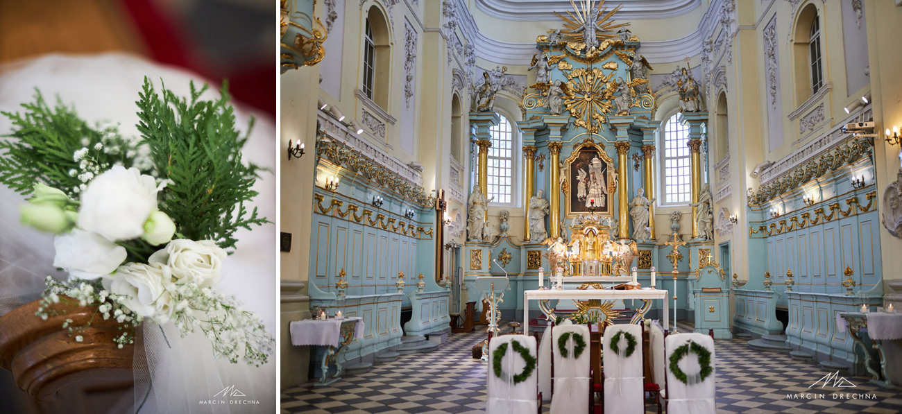 dekoracja kościoła w witowie
