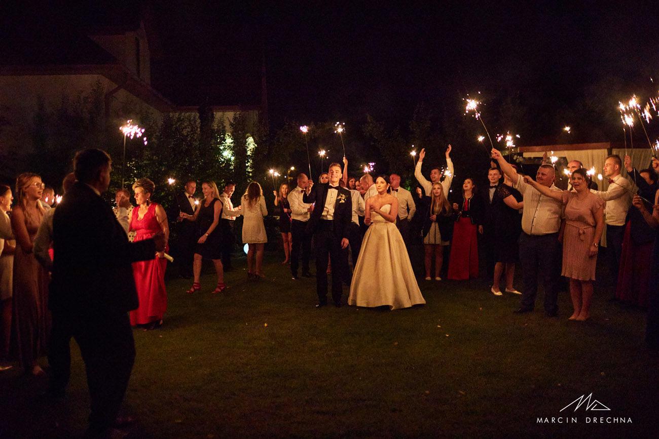 zimne ognie na weselu biały dworek w wolborzu
